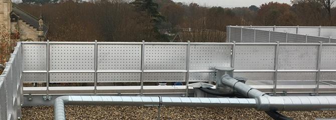 securité pour les toitures-terrasses